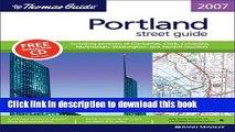 [Download] The Thomas Guide Portland, Oregon: Oregon: Street Guide (Thomas Guide Portland Oregon