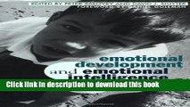 [PDF] Emotional Development And Emotional Intelligence: Educational Implications [Full Ebook]