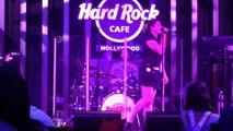 Jules (a waitress) at Hard Rock Sing-along night.