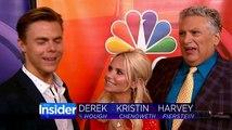 Derek Hough Hairspray on The Insider