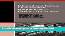 Download The Handbook of Infrared and Raman Characteristic Frequencies of Organic Molecules E-Book