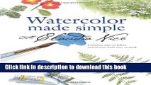 [Download] Watercolor Made Simple with Claudia Nice Paperback Free