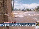 Monsoon hits Apache Junction with rain, flooding