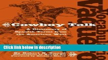 [PDF] Vocabulario Vaquero / Cowboy Talk: A Dictionary of Spanish Terms from the American West