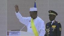Tchad, Investiture du Président Idriss DEBY