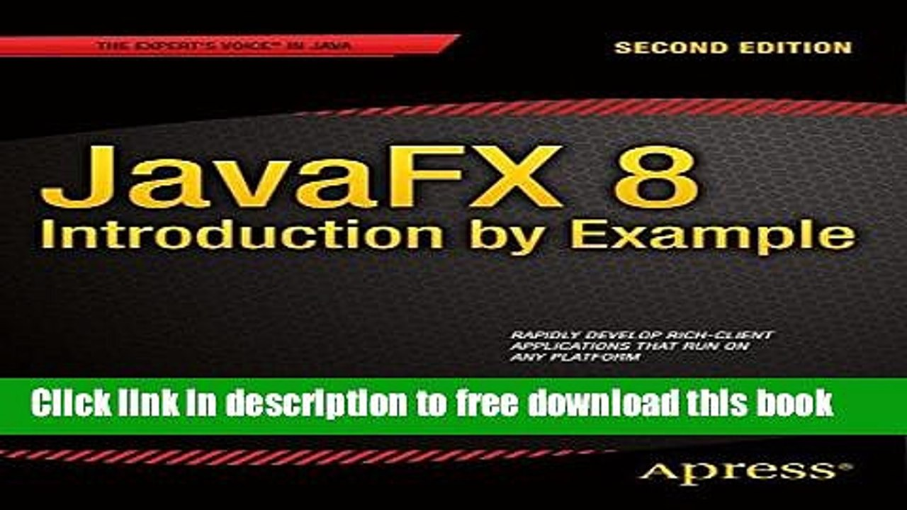 [Download] JavaFX 8: Introduction by Example Paperback Online