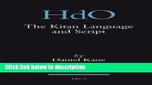 Ebook The Kitan Language and Script (Handbook of Oriental Studies/Handbuch Der Orientalistik) Full