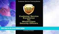 Big Deals  Customer Service Excellence for World-Class Security Officers (Customer Service