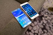 Samsung Galaxy Note 7 vs Apple iPhone 6s Plus first look- Smartphone comparison