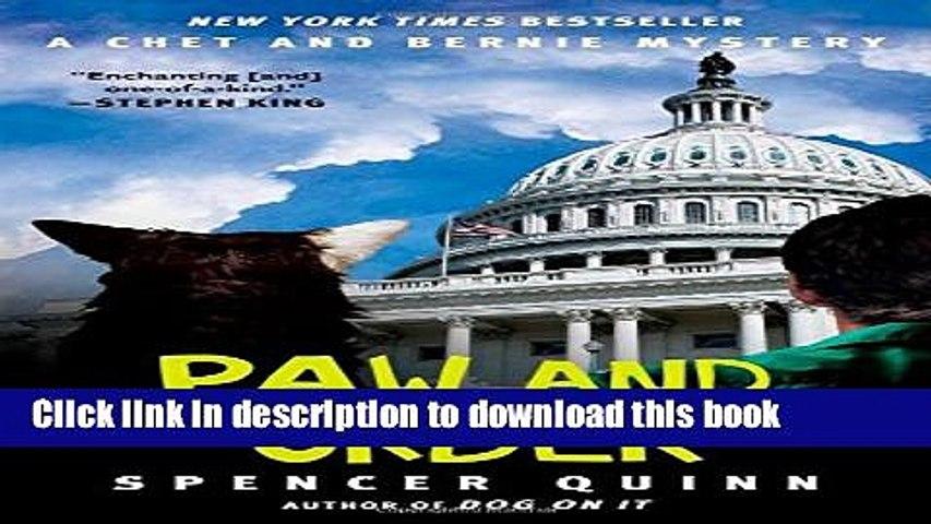 [Popular] Books Paw and Order: A Chet and Bernie Mystery (The Chet and Bernie Mystery Series) Free | Godialy.com