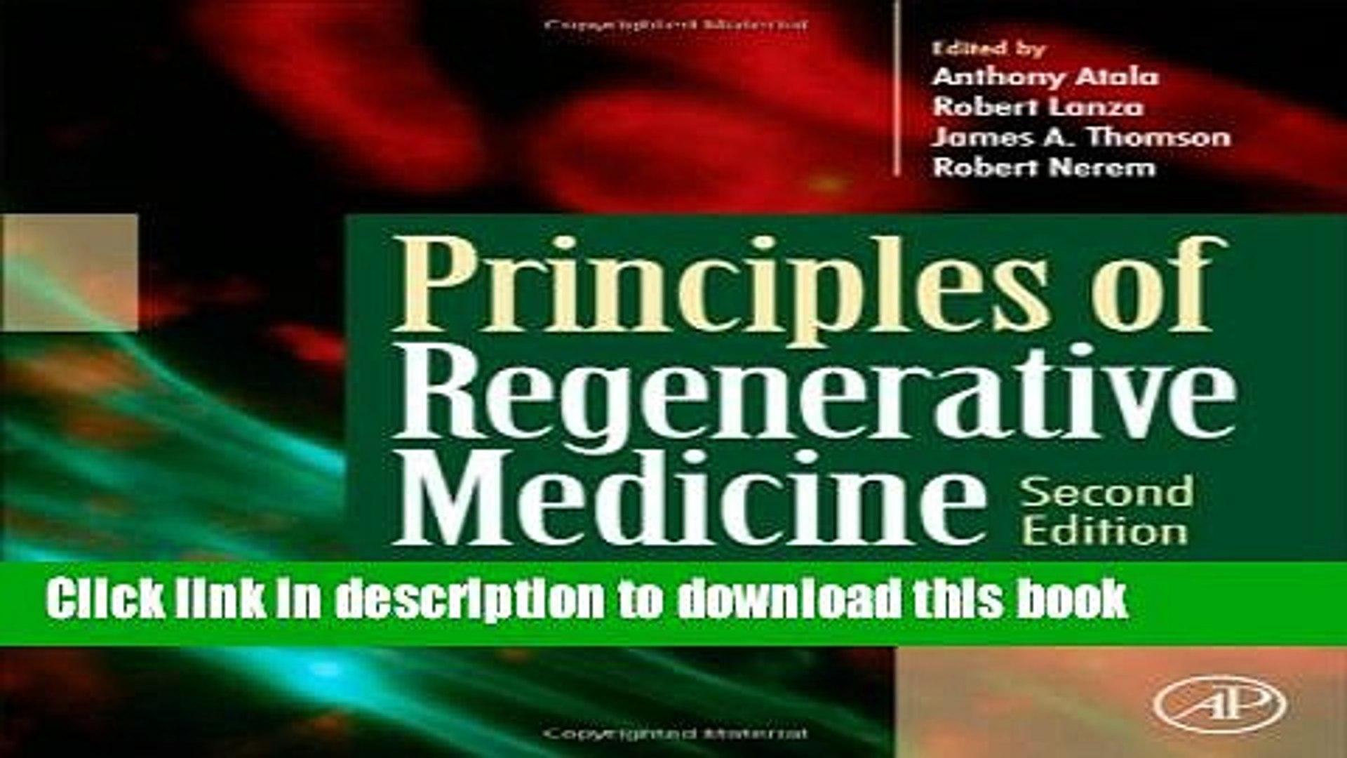 Principles of Regenerative Medicine, Second Edition