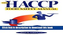 [Popular] The HACCP Food Safety Manual Kindle Free