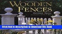 [Popular] Wooden Fences Paperback Free