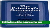 [Download] The Principal s Companion: A Workbook for Future School Leaders Paperback Free