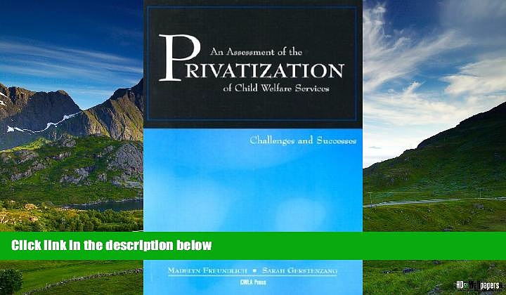 Must Have  An Assessment of the Privatization of Child Welfare Services: Challenges and