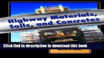 [Popular] Highway Materials, Soils, and Concretes (4th Edition) Hardcover OnlineCollection