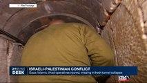 Gaza: Islamic Jihad operatives injured, missing in fresh tunnel collapse