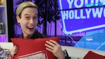 Tyler Henry Tries Avocado Toast & Kombucha On Facebook Live
