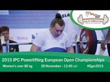Women's over 86 kg | 2015 IPC Powerlifting European Open Championships, Eger