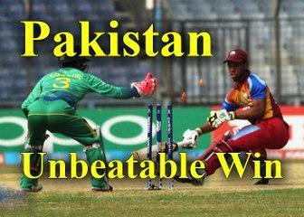Unbeatable Win Pakistan Cricket Last Over Winning Vs West Indies