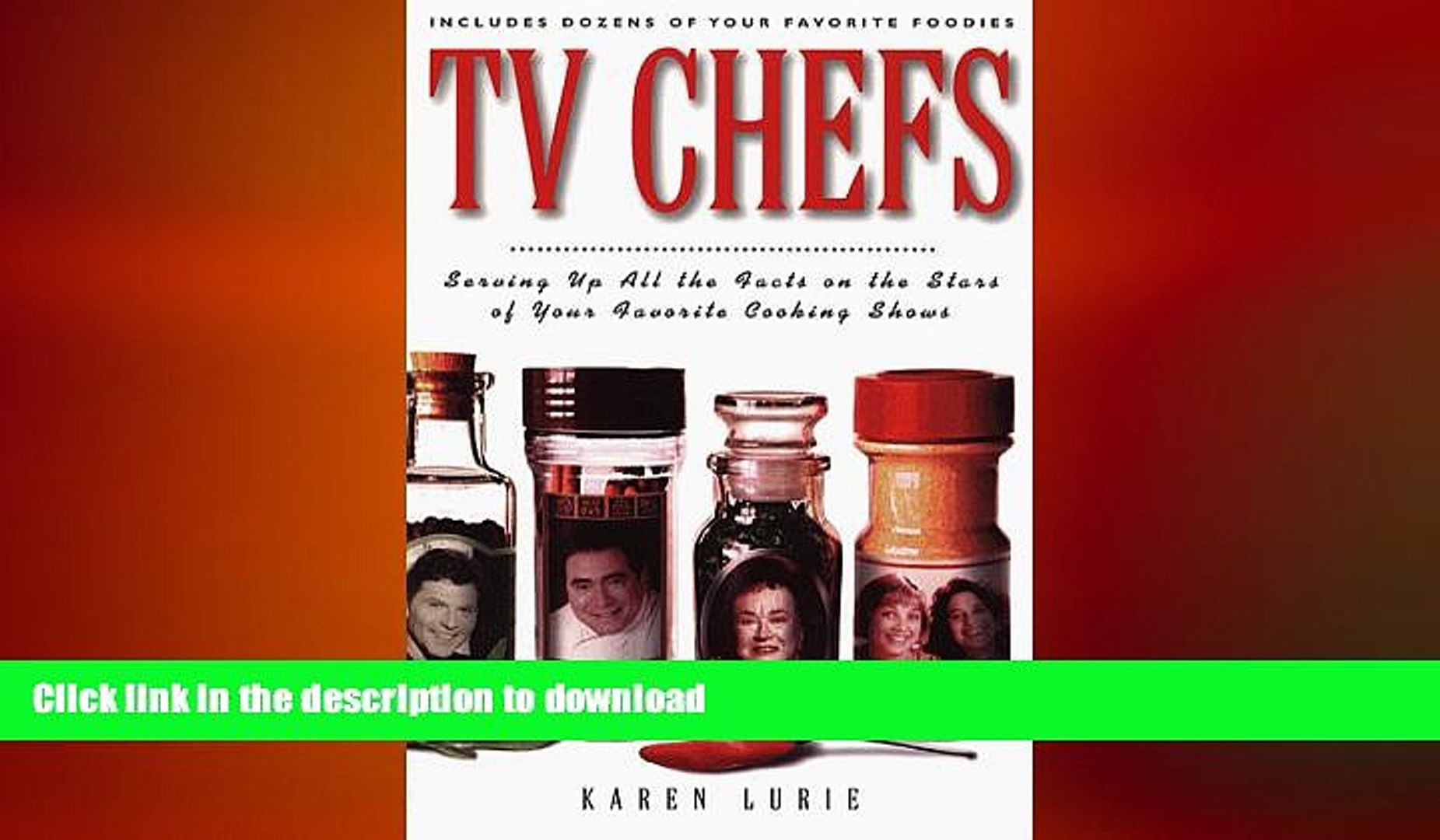 FREE DOWNLOAD  TV Chefs: The Dish on the Stars of Your Favorite Cooking Shows  BOOK ONLINE
