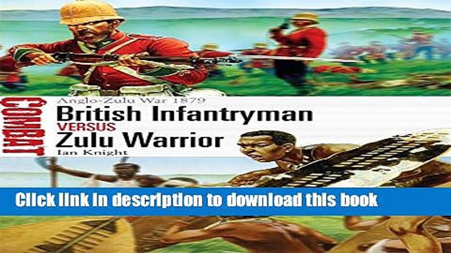 British Infantryman vs Zulu Warrior: Anglo-Zulu War 1879 (Combat, Volume 3)