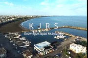 360_ドローン空撮:湘南海岸-大磯ビーチ-Ooiso-Beach-@-Shonan-Kanagawa_T【空撮ドローン】_drone