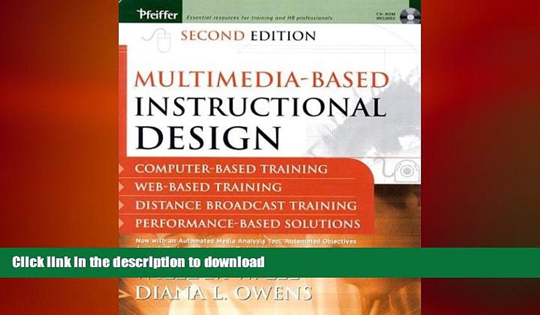 Pdf Online Multimedia Based Instructional Design Computer Based Training Web Based Training Video Dailymotion