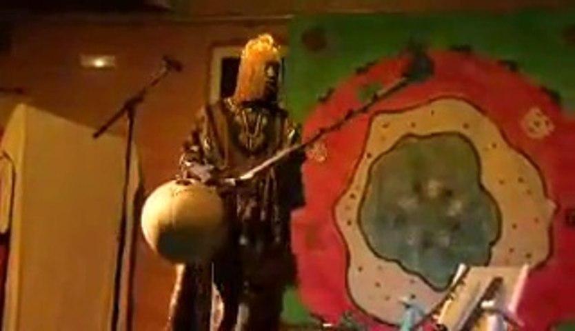 Griot zaky diarra en concert