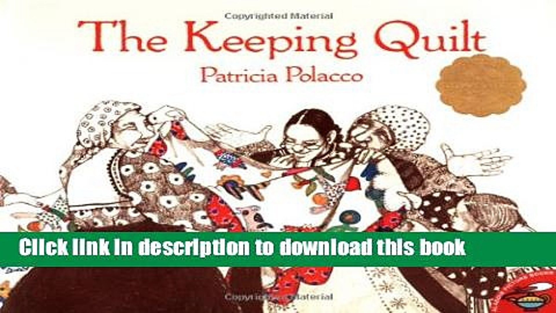 Popular Books The Keeping Quilt Free Online