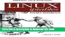 [Download] Linux iptables Pocket Reference Kindle Online