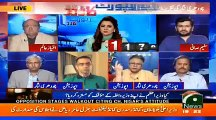 Yeh Devi, Devtaun ke ghulam ... - Hassan Nisar grills Khursheed Shah and Opposition for walking out on Ch Nisar's speech