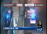Cámaras del ECU 911 graban impactantes robos en El Oro