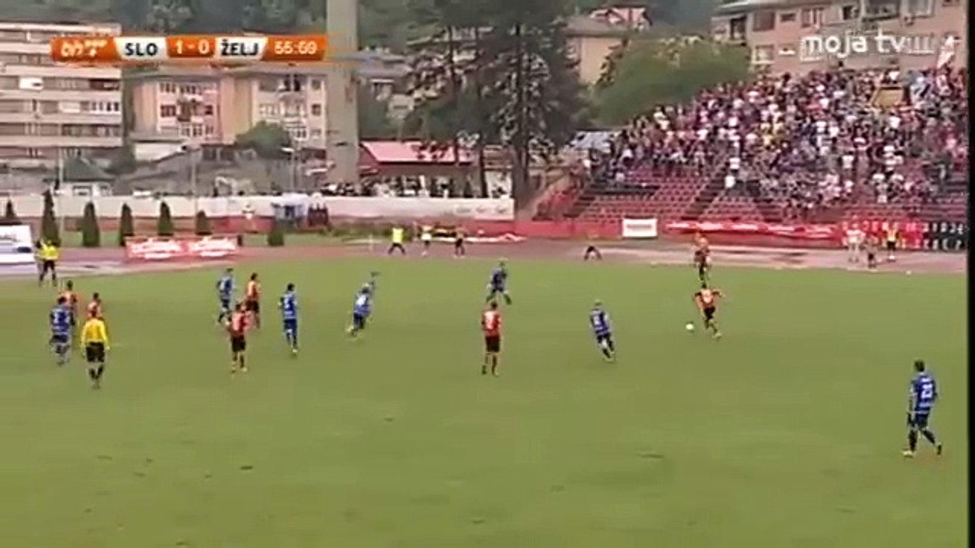 FK Sloboda - FK Željezničar - 2-0 Stjepanović 56' min.