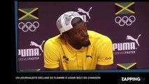 JO de Rio 2016: Usain Bolt reçoit une déclaration d'amour en rap!
