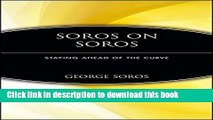 [Popular] Soros on Soros: Staying Ahead of the Curve Kindle Collection
