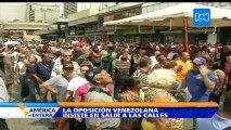 La oposición venezolana se tomará Caracas este 1 de septiembre para exigir la fecha exacta del revocatorio de Maduro
