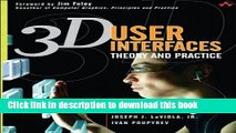 [Download] 3D User Interfaces: Theory and Practice Paperback Free