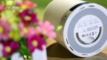 VIVO Atmospheric Smart Touch Bluetooth Speaker LED Lamp Light / Regular Time Alarm Clock