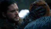 Game of Thrones 6x10 - Sansa and Jon 'Winter is here.