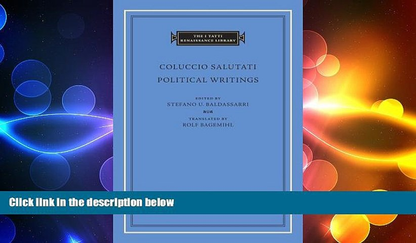 there is  Political Writings (The I Tatti Renaissance Library)