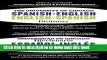 Download PDF] The University of Chicago Spanish-English