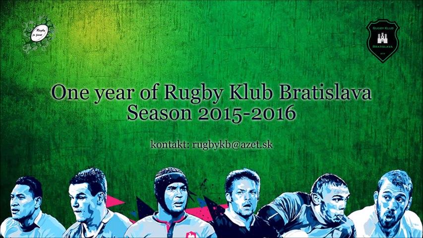One year of Rugby Klub Bratislava season 2015-2016