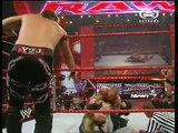 WWE RAW 01-28-2008 JBL & Randy Orton vs Chris Jericho & Jeff Hardy - PL