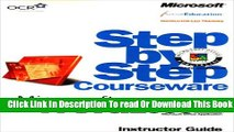 [Download] Microsoft  Word 2000 Step by Step Courseware Trainer Pack (Step By Step Courseware.