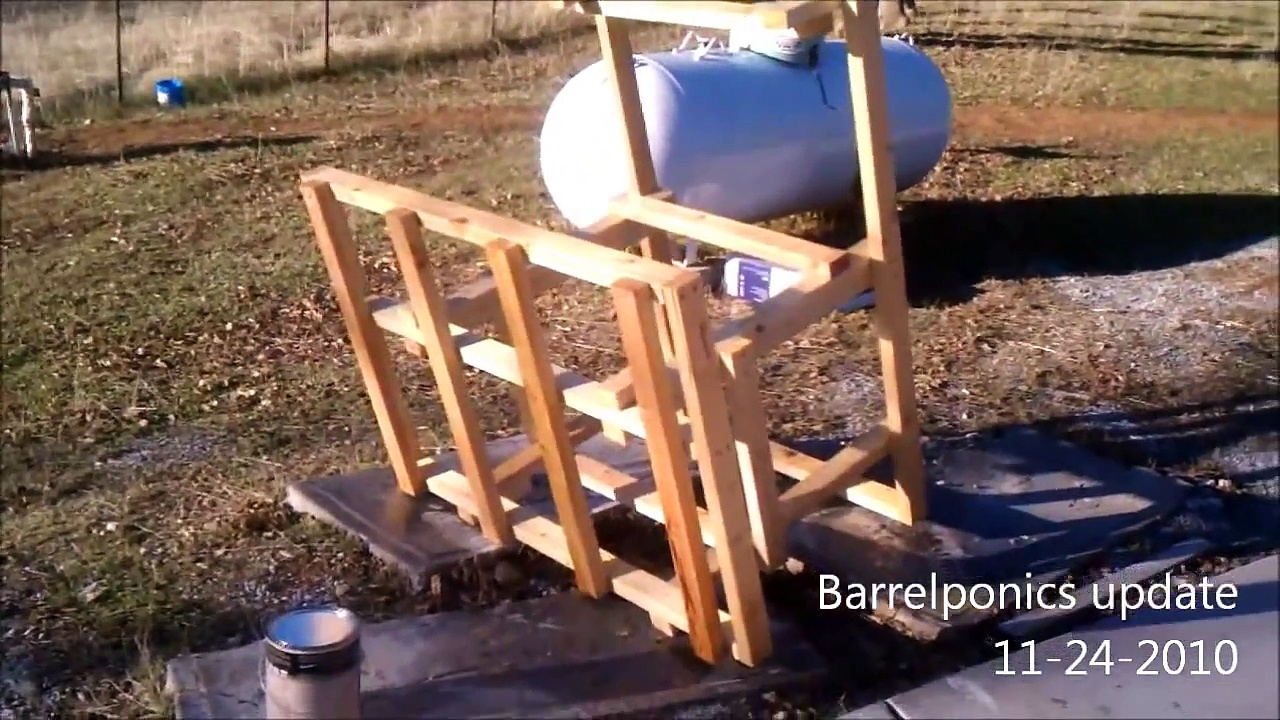Barrel Aquaponics Update – 11/24/2010