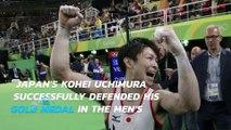 Rio Olympics: Kohei Uchimura remains all-around gymnastics champ