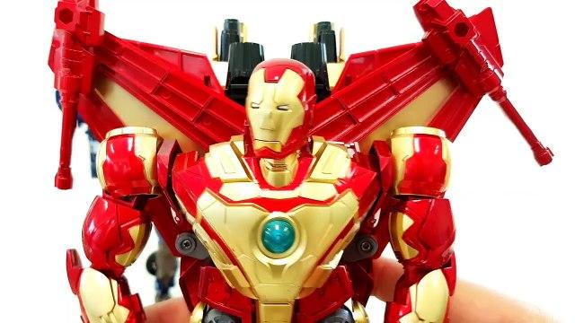 Avengers Transformers Ironman Captain America Transformation Car Toys 어벤져스 캡틴아메리카 아이언맨 피규어 변신 동영상