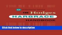 Books Hodges  Harbrace Handbook, Preview Version (Hodges  Harbrace Handbook with APA Update Card)