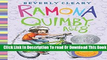 [Download] Ramona Quimby, Age 8 Hardcover Online